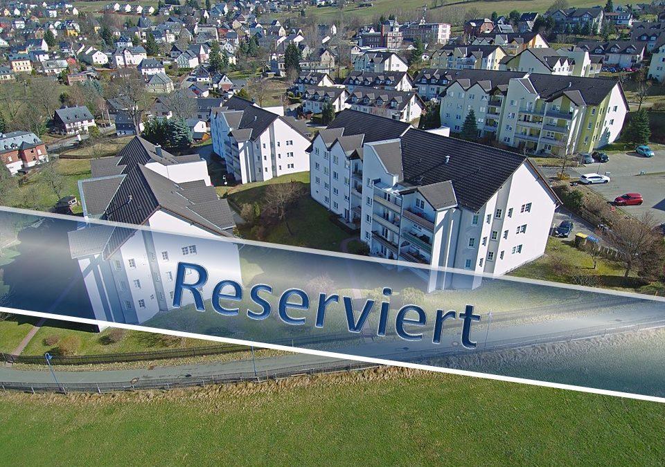 RESERVIERT!  – Eigentumswohnung in Bernsbach