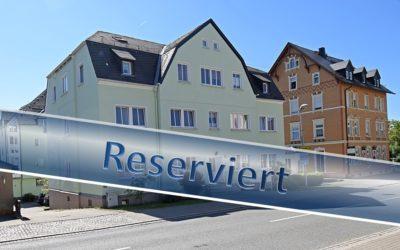 RESERVIERT – Eigentumswohnung im Kern von Zwönitz