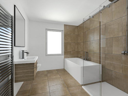 Badezimmer An der alten Försterei